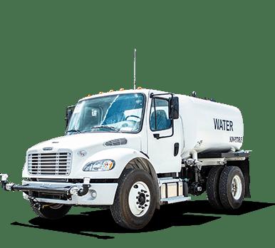 Freightliner 2000 gallon capacity