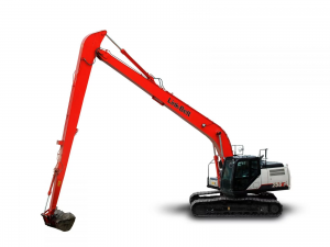 Link Belt 250 long reach excavator