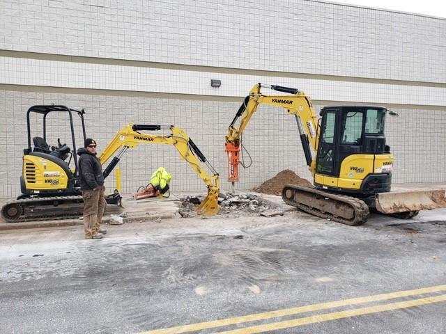 rocrents mini excavator rentals